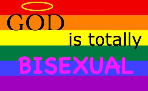 God Is Bisexual by Gay-Mitchel-Theodore