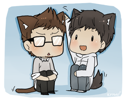 kitty ears by kimidorima