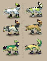 Canine Adoptables .-OPEN-. by Lova-Adopts