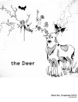 The deer by LiLumina