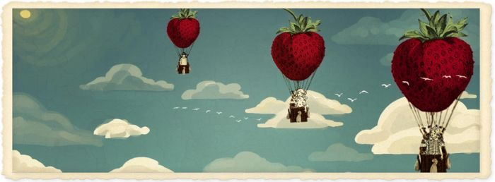 Strawberry fields forever by hogret