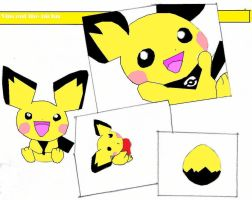 Vincent the pichu background by Virexius