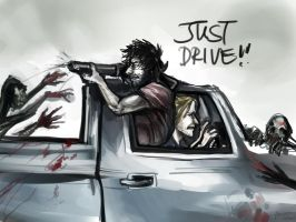 More DA2 modern zombie au madness by PayRoo