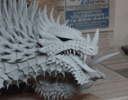 Anguirus 2006 - Head shot by forktail