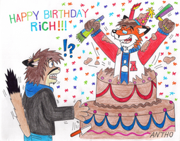 Happy Birthday Rich !!! by AnthoFur