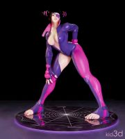 Juri - SFV by KID3D