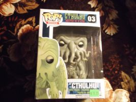Cthulhu Funko Pop! Vinyl Figure (regular) by godofwarlover