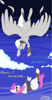 Let me fall - Collab with ToxicWheezing by soarjadethehedgehog