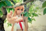 'Take my hand' - Asuna Cosplay (SAO) by NidameSofia