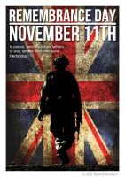 Remembrance Day Poster 3 by NeverenderDesign