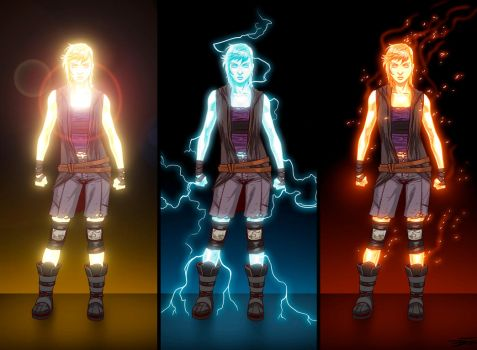 DAWN: Power concepts by DavidFernandezArt