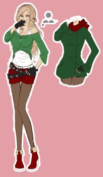 Tannenbaum-Outfit ( Winteroutfit) by YOUTA-RU
