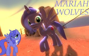 Mariah Wolves Garrysmod pony request/gift by LunarGuardWhoof