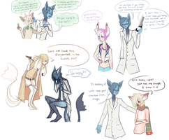 Running out of patience for these patients by Petite-Colette