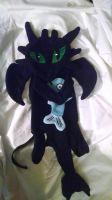 Night Fury/ Toothless backpack (Pic 1) by KahleyCreations