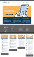 UVirtual website - landing page by evilself