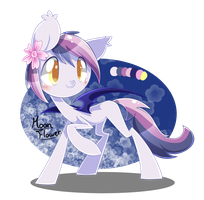 Moon Flower by PegaSisters82