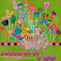Lollipops Png by gagauniverse