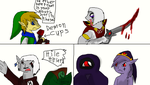 Notices in Hyrule Warriors by thedragonlover95