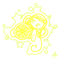 Yellow OjaSennyo . NiNi . by Eniotna
