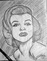 Marilyn Monroe by SpiderRainboots