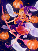 happy halloween! by konoumin