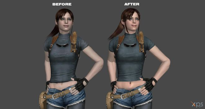 Claire Memory lost city no vest -wip by ChrisTalyus
