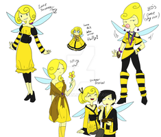 Bumblebee dress up tiem by TheLittlehoneybee