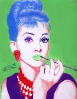 Audrey Hepburn In Colour by kill-the-killer