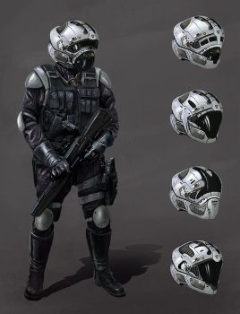 future soldier concept by LMorse