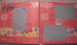 You and Me Scrapbook Page by SkillfulCreations
