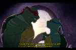 Commission Raph and Leo by XxLevanaxX