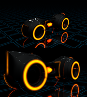 Tron Bike - Work In Progress/Test_2 | C4D render by pixxel-dbstp