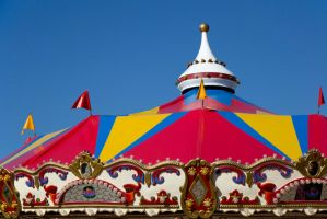 Easter show 2013-Tent by montygm