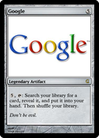 Magic: Google by Tia86