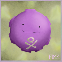 Ditto as Koffing! by fimk