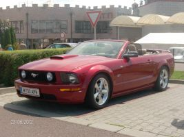 Red Convertible GT by CynderxNero