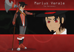 Marius character by Solacen
