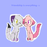 Friendship Is Everything by V1RG1N1A-CHAN