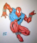 scarlet spider markers 1-1 by Glwills1126