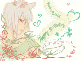 happy birthday reti ~~ by yune-d