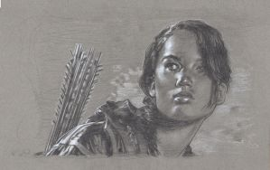 Katniss Everdeen by JeffLafferty