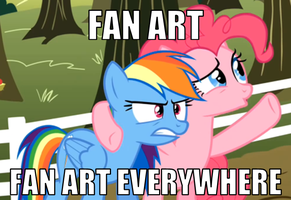 MLP Fan Art Everywhere! by TheDoubleDeuced