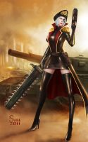 Imperial Commissar(Warhammer 40000) by sade75311