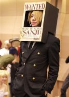 Sanji Cosplay Wanted Poster XD by Youji-Sama