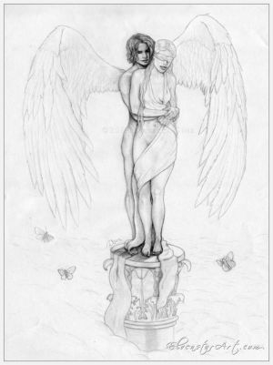 Eros and Psyche sketch