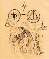 The Deathly Hallows - Tale of the Three Brothers by zott0123
