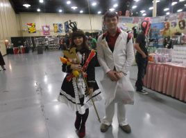 Maria and Battler at Tokyo in Tulsa 2014 by Dynneekx