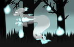 Spireon - Ghost Type Eeveelution by FlareKoshiru