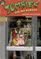 Zombies ate my Burger by daybender